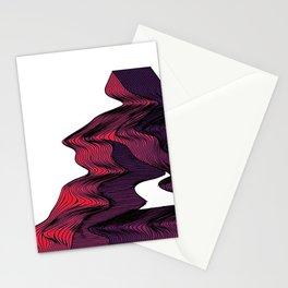 Penrose Distortion (Transparent) Stationery Cards
