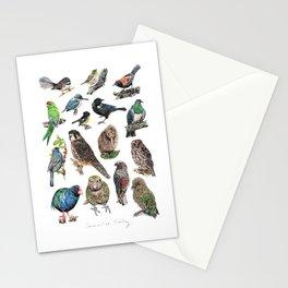 Native NZ Birds Stationery Cards