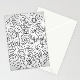 Hermetic Principles Stationery Cards