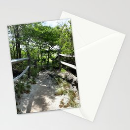 Path to the Beach in Ptown II Stationery Cards