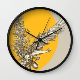 Icarus Wall Clock