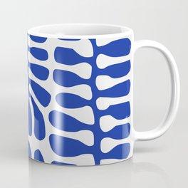 Blue seaweed hanging Coffee Mug