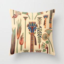 Gods of Egypt-Pharaohs of Egypt Throw Pillow