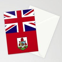 Bermuda flag emblem Stationery Cards