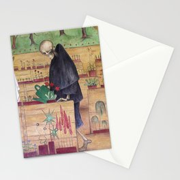The Garden of Death fresco by Hugo Simberg Stationery Cards