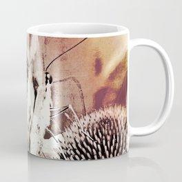 coneflower and butterfly Coffee Mug