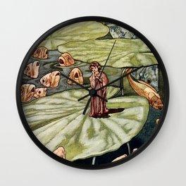 """""""Thumbelina"""" by Charles Robinson Wall Clock"""