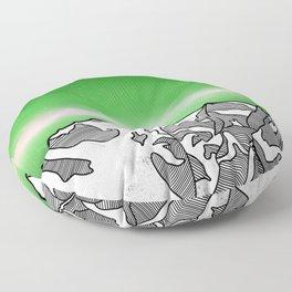 Hkakabo Razi Mountain Floor Pillow