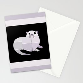 Paint Chip Otter Stationery Cards