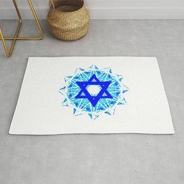 Jewish Star Rug