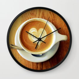 A Warm Cup of Love Wall Clock