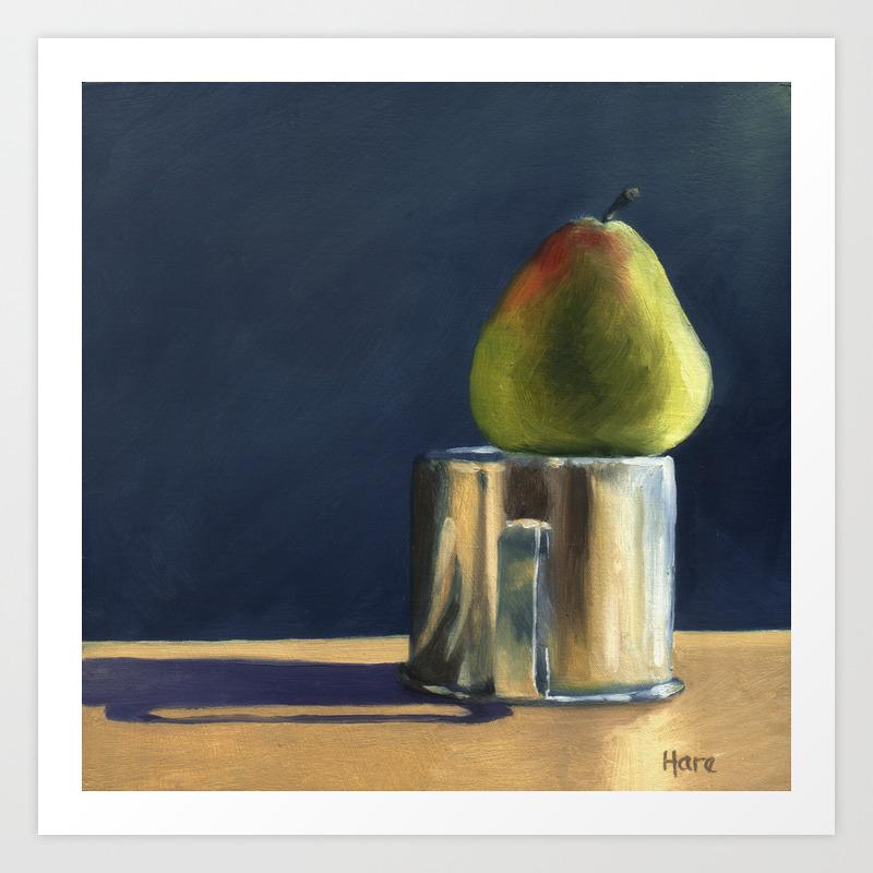 Pear, Cup Art Print by Artstudiohare PRN905329
