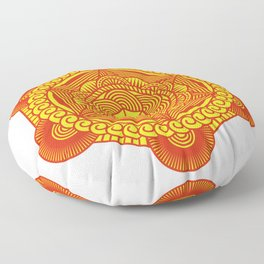 SACRED GEOMETRY METATRONS CUBE Gift For Yoga Lover Floor Pillow