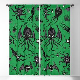 Cosmic Horror Critters Blackout Curtain
