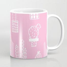 Cactus in pots pink version Coffee Mug