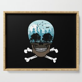 Death City Serving Tray