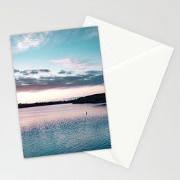 Sunset on the Mississippi River-Minnesota Landscape Photography Stationery Cards