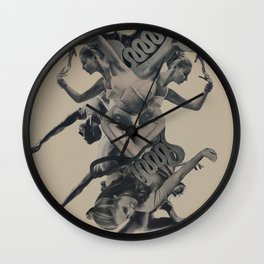 Unwind/Rewind Wall Clock