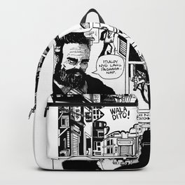 """""""You can run, But you can't hide, bitch!"""" Backpack"""