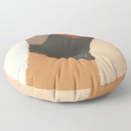 Prairie Dog - Abstract, Animal Illustration  Floor Pillow