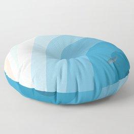 Shark Beach  Floor Pillow