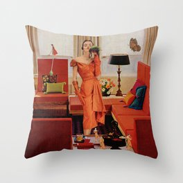 Mrs. Gulliver's Place Throw Pillow