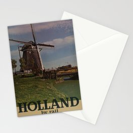 affiches Holland by Rail Stationery Cards