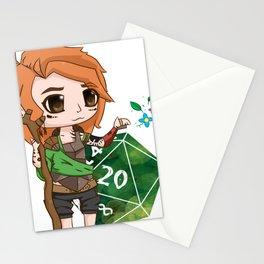 Effie – Halfling Druid Stationery Cards