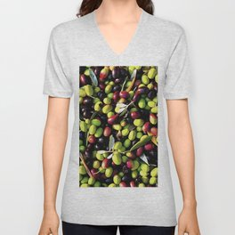 Organic Olives Unisex V-Neck