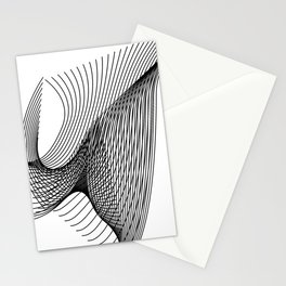 """""""Script Collection"""" - Minimal Letter W Print Stationery Cards"""