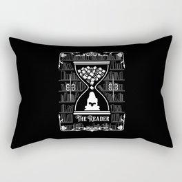 The Reader Tarot Card Rectangular Pillow
