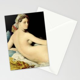 "Jean-Auguste-Dominique Ingres ""The Grand Odalisque"" Stationery Cards"