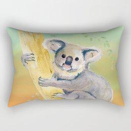 Colorful Koala  Rectangular Pillow