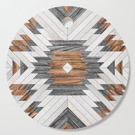Urban Tribal Pattern No.8 - Aztec - Wood Cutting Board