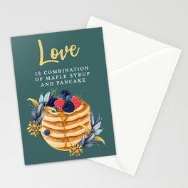 Pancake  Stationery Cards