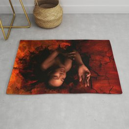 LURES OF THE BLACK HOLE Rug