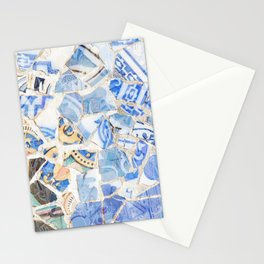 Mosaic of Barcelona XII Stationery Cards