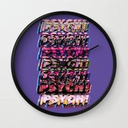 PSYSCH! Wall Clock