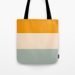 Heracles - Minimal Summer Retro Stripes Tote Bag