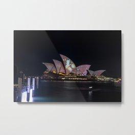 Vivid Sydney 2017_09 - Sydney Opera House Metal Print