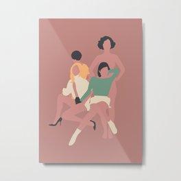Mujeres Metal Print