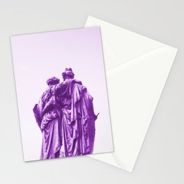 Bffs friends lift each other up Stationery Cards