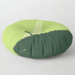 WTF? Ovni! Floor Pillow