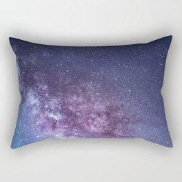 Gentle Milky Way Rectangular Pillow