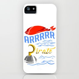 Pirate Hook Apparel iPhone Case