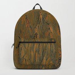 Field of barley III Backpack