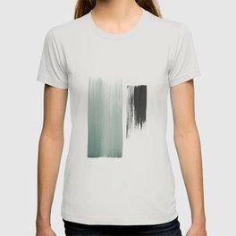 sage & black T-shirt