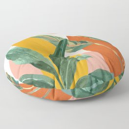 Leaf Design 03 Floor Pillow
