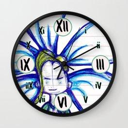 """Sometimes You Win"" Flowerkid Wall Clock"