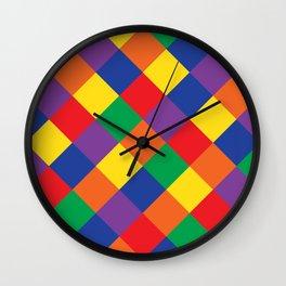 cozy tiles Wall Clock